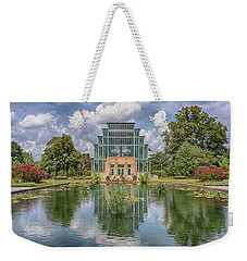 Weekender Tote Bag featuring the photograph The Jewel Box by Susan Rissi Tregoning