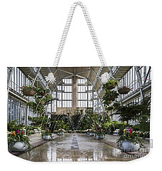 The Jewel Box Fountain Weekender Tote Bag by Andrea Silies