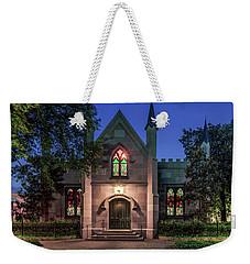 The Jingle Bells Church Weekender Tote Bag by Rob Sellers