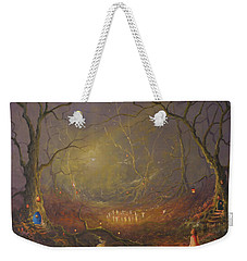 The Fairy Ring Party Weekender Tote Bag by Joe Gilronan