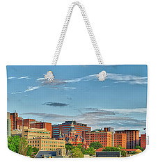 Weekender Tote Bag featuring the photograph The Johns Hopkins Hospital Complex by Mark Dodd