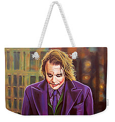 The Joker In Batman  Weekender Tote Bag by Paul Meijering