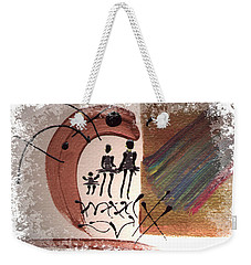 The Journey Weekender Tote Bag by Angela L Walker