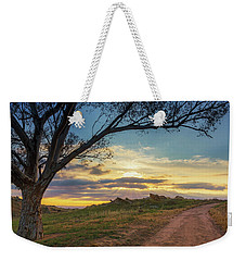 The Journey Home Weekender Tote Bag by Tassanee Angiolillo