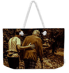 The Journey Weekender Tote Bag by Michael Nowotny
