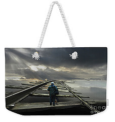 The Journey Begins Weekender Tote Bag