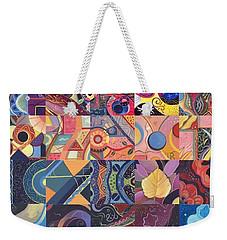 The Joy Of Design First 40 Variation 1 Weekender Tote Bag