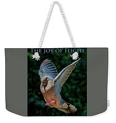The Joy Of Flight Poster Weekender Tote Bag