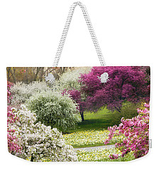 Weekender Tote Bag featuring the photograph The Joy Of Spring by Jessica Jenney