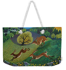 The Joy Of Spring Weekender Tote Bag by Lisa Graa Jensen
