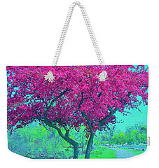 The Joy Of Spring Weekender Tote Bag
