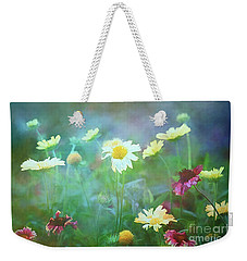 The Joy Of Summer Flowers Weekender Tote Bag