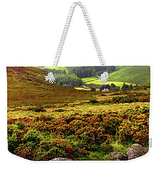 Weekender Tote Bag featuring the photograph The Keeper Of Legends by Jenny Rainbow