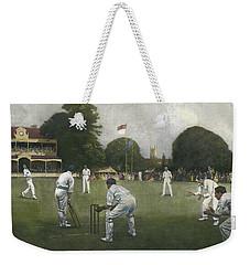 The Kent Eleven Champions, 1906 Weekender Tote Bag by Albert Chevallier Tayler