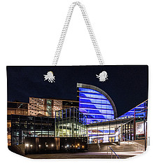 Weekender Tote Bag featuring the photograph The Kentucky Center For The Performing Arts by Randy Scherkenbach