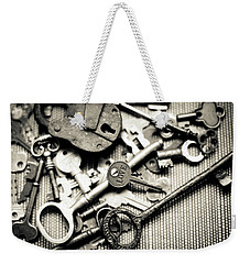 The Key To Love Weekender Tote Bag by Ana V Ramirez