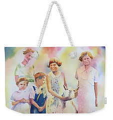 The Kids And The Kid Weekender Tote Bag