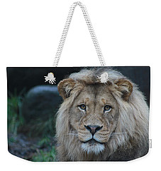 Weekender Tote Bag featuring the photograph The King by Laddie Halupa