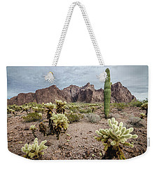 Weekender Tote Bag featuring the photograph The King Of Arizona National Wildlife Refuge by Margaret Pitcher