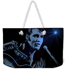 The King Rocks On Weekender Tote Bag