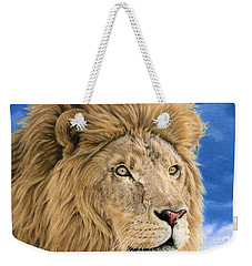 The King Weekender Tote Bag by Sarah Batalka