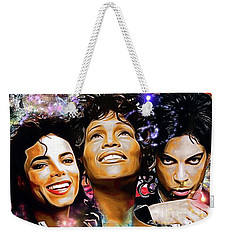 The King, The Queen And The Prince Weekender Tote Bag