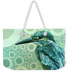 The Kingfisher Weekender Tote Bag