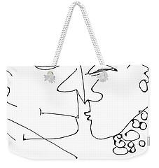 The Kiss #99 Weekender Tote Bag
