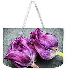 The Kiss Weekender Tote Bag by Karen Stahlros