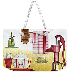 The Kitchen Sink Weekender Tote Bag