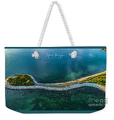 Weekender Tote Bag featuring the photograph The Knob by Michael Hughes