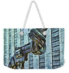 The Knotted Gun Weekender Tote Bag