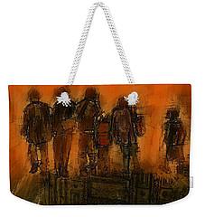 The Knowledge Seekers Weekender Tote Bag by Jim Vance