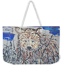 Weekender Tote Bag featuring the painting The Kodiak by J R Seymour