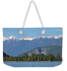 Weekender Tote Bag featuring the photograph The Koots by Cathie Douglas