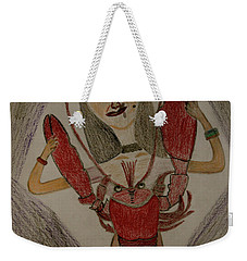 The Lady Weekender Tote Bag by Lorna Maza