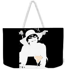 The Lady Loves A Margaretta Weekender Tote Bag