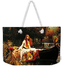 The Lady Of The Shalot Weekender Tote Bag