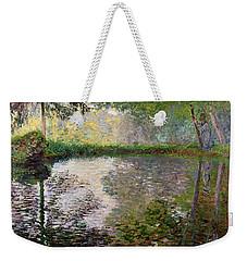 The Lake At Montgeron Weekender Tote Bag