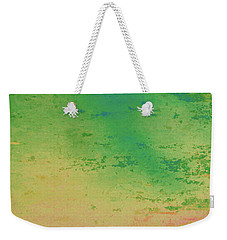 Weekender Tote Bag featuring the painting The Lake by Bill OConnor