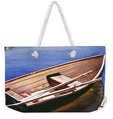 The Lake Boat Weekender Tote Bag
