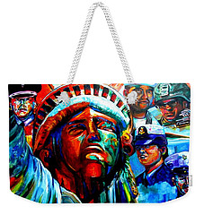 The Land Of The Free  Weekender Tote Bag