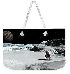 The Lander Ulysses On Europa Weekender Tote Bag