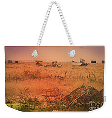 The Landscape Of Dungeness Beach, England 2 Weekender Tote Bag