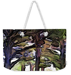 The Landscape With The Leaning Trees Weekender Tote Bag