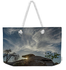 Weekender Tote Bag featuring the photograph The Last Blast by Gaelyn Olmsted