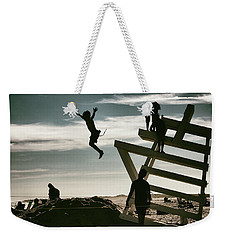 The Last Days Of Summer Weekender Tote Bag