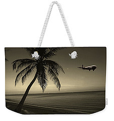 The Last Flight Out Weekender Tote Bag