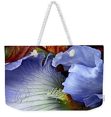 The Last Iris Weekender Tote Bag