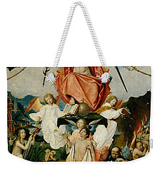 The Last Judgment Weekender Tote Bag by Jan Provost